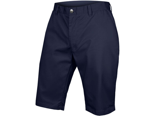 Chino Korte Broek Heren.Endura Hummvee Chino Fietsbroek Kort Heren Met Liner Shorts Blauw I